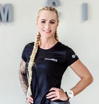 Trener Marzena Łuszczak
