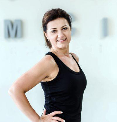 Trener Marzena Grzybowska