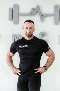 Trener Jacek Piwowar